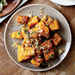 Roasted Butternut Squash with Parmesan-Garlic Breadcrumbs Recipe