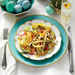 Shaved Vegetable Salad with Toasted Almonds Recipe