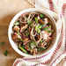 Soba Noodle Salad with Pork, Snap Peas, and Radishes Recipe