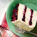 White Cake with Cranberry Filling and Orange Buttercream Recipe