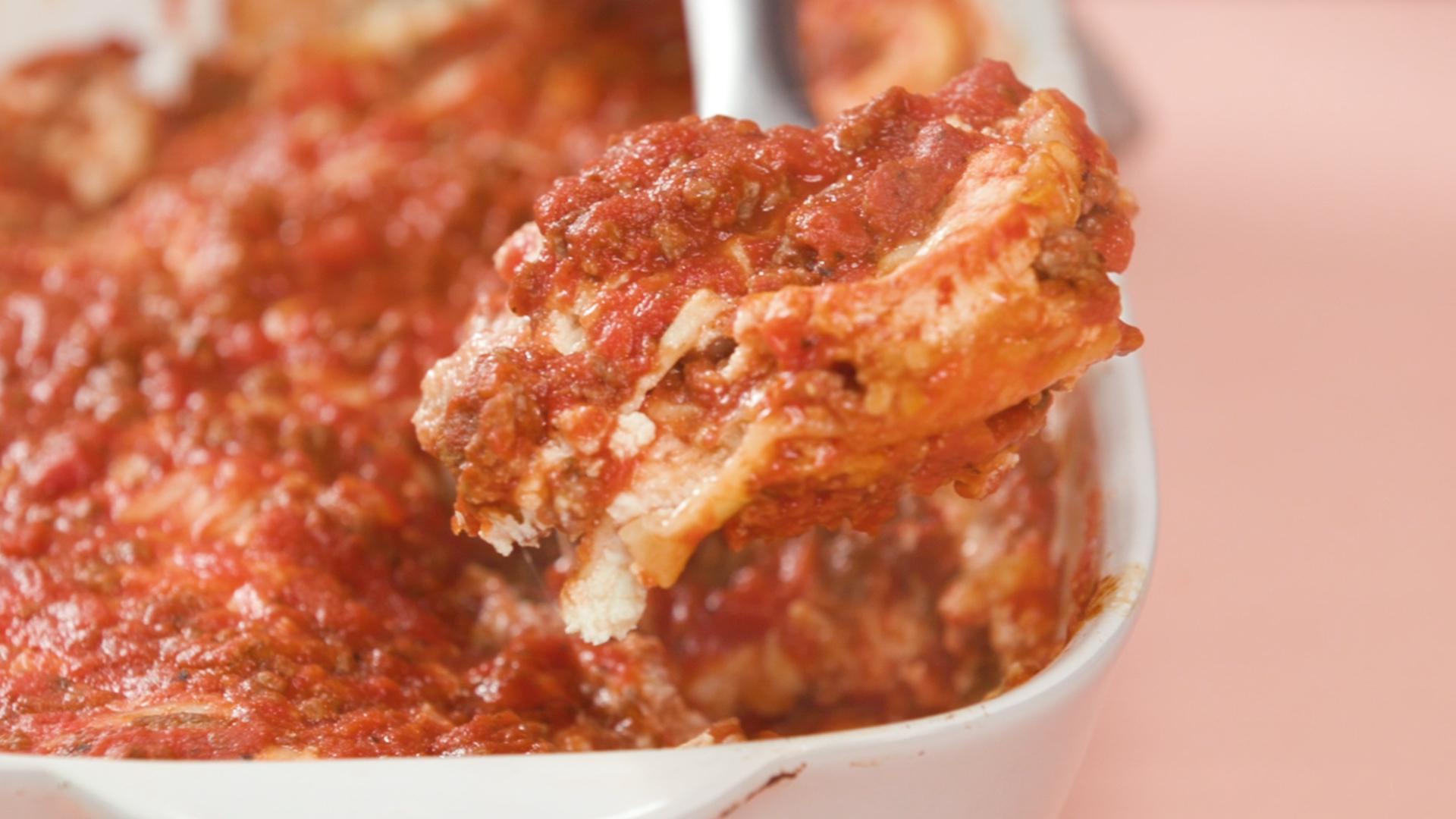 This Is the Easiest Lasagna You'll Ever Make
