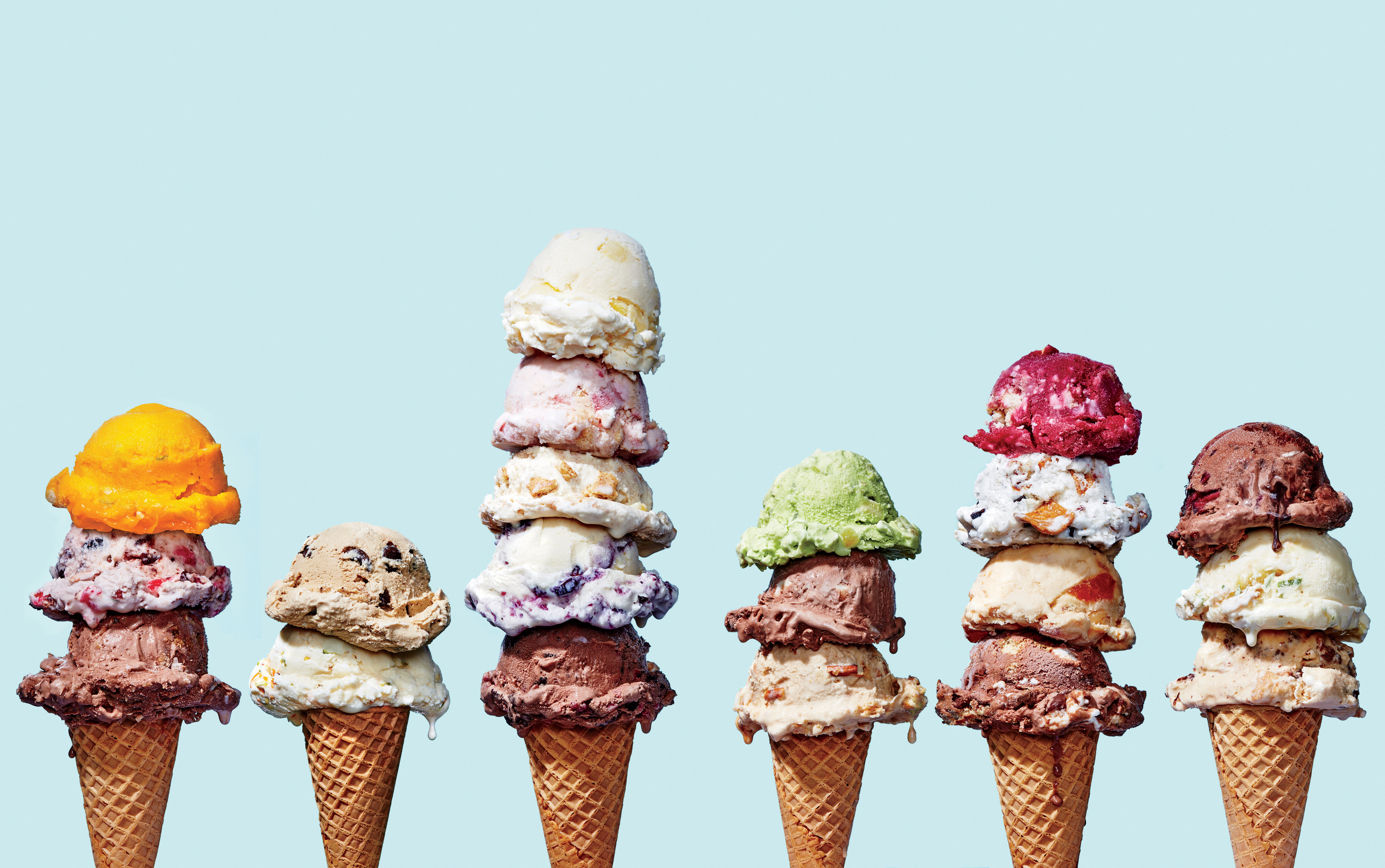 From Horchata to Whiskey, Americans Have a Newfound Taste for Unique Ice Cream Flavors