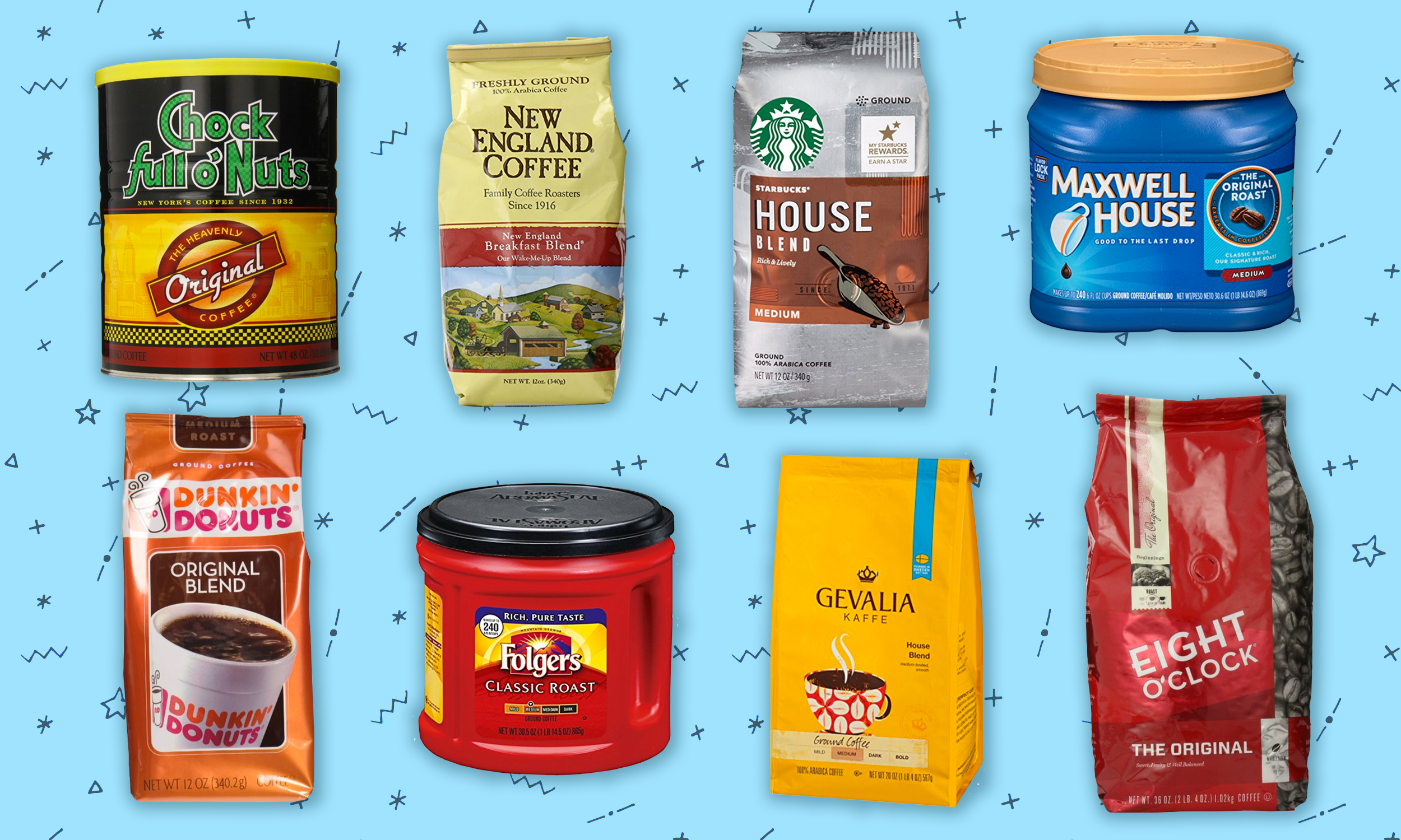 24d71aa0fd7 We Tested 13 Grocery Store Coffees and Here's the Best One | Extra Crispy