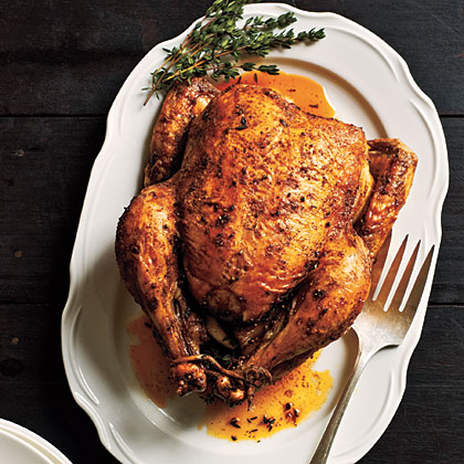 Classic Roast Chicken Recipe | MyRecipes