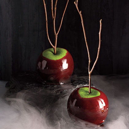 Cinnamon-Cider Candied Apples