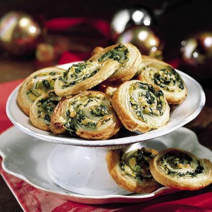Spinach and Artichokes in Puff Pastry