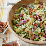 <p>Broccoli, Grape, and Pasta Salad</p>