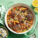 Citrus-Braised Chicken Thighs Image