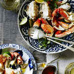 Cracked Crab with Butter and Citrus
