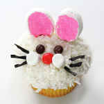 How to Make Bunny Face Cupcakes