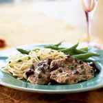 Pork Medallions with Olive-Caper Sauce
