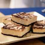 Marble Cheesecake Squares