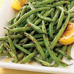 Preparing Fresh Green Beans