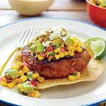 Tex-Mex Turkey Burgers
