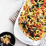 <p>Bacon and Butternut Pasta</p>