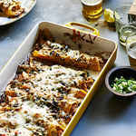 <p>Green Chile Chicken Enchiladas</p>