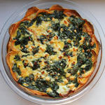 Quiche in a Sweet Potato Crust