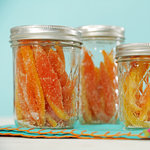 Easy Candied Citrus Peels