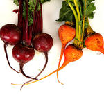 Red Golden Beets