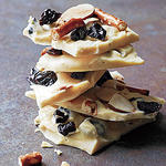 White Chocolate-Cherry Bark