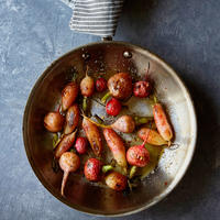 Roasted Radishes with Brown Butter, Chile, and Honey