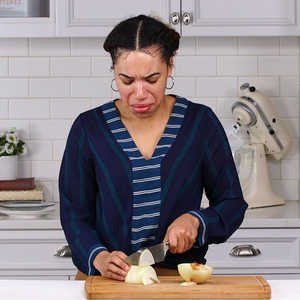 How To Not Cry While Cutting Onions Video Myrecipes