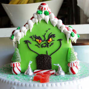 How To Make The Grinch Gingerbread House Video Myrecipes