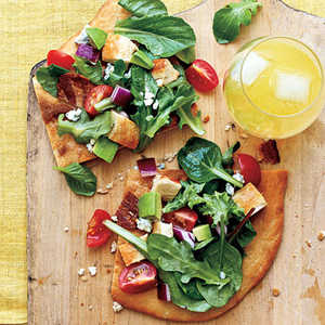 Healthy Weekend Pizza