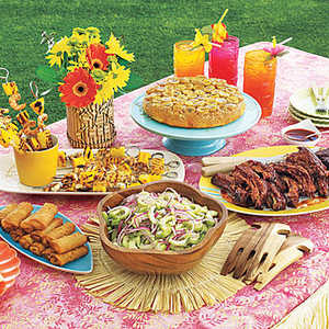 Tropical Feast Menu