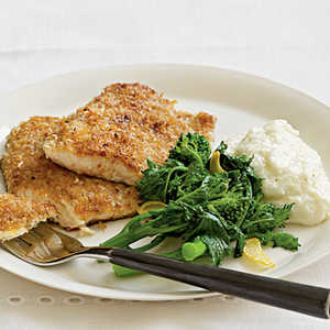 Pecan-Crusted Trout Menu