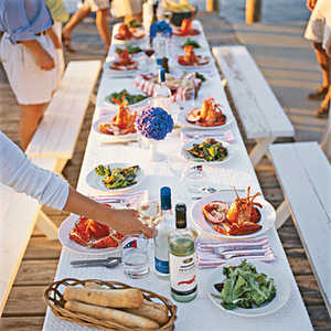 A Midsummer Night's Feast Menu