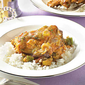 Chicken-and- Sausage Gumbo Recipe