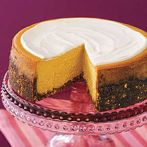 Pumpkin CheesecakeRecipe