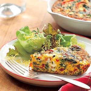 Vegetable FrittataRecipe