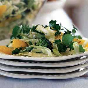 Broccoli, Orange, and Watercress SaladRecipe