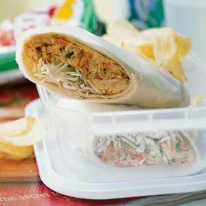 Chicken Saté Wraps Recipe