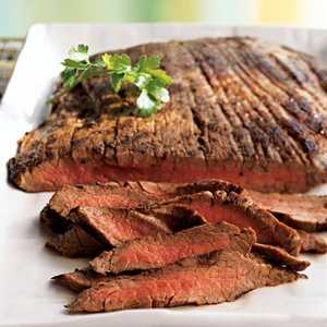 Basic Grilled Flank Steak Recipe