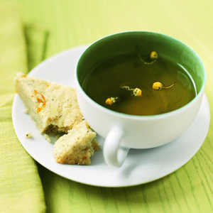 Lemon-Chamomile Shortbread Recipe