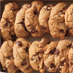 Flourless Peanut Butter-Chocolate Chip Cookies Recipe
