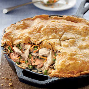 Skillet Chicken Pot PieRecipe