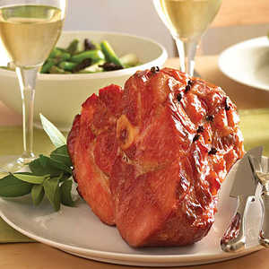 Classic Baked Ham with Maple-Mustard Glaze Recipe