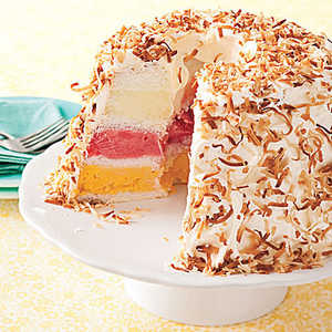 Cake of the Week: Tropical Sherbet Cake
