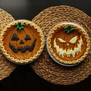 How To Decorate Store Bought Pumpkin Pies 194 For Halloween