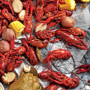 SL's Stovetop Crawfish Boil Recipe | MyRecipes | MyRecipes