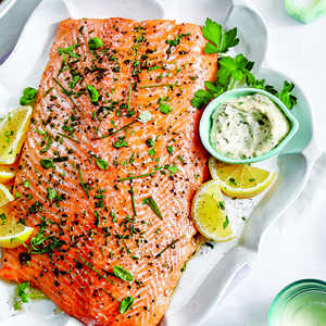 how to cook salmon fillet pinoy style