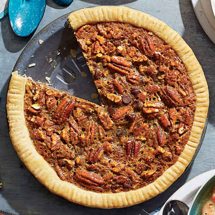 Chocolate-Bourbon Pecan Pie