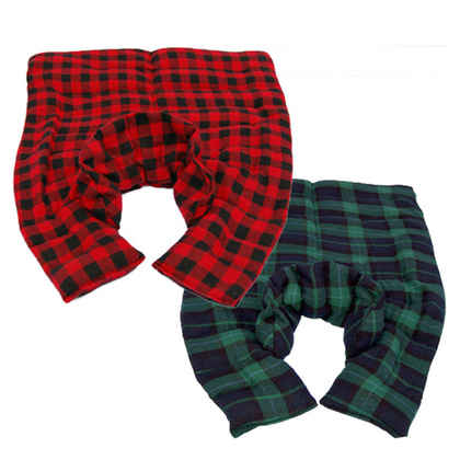 Plaid Flannel Neck/Back Aromatherapy Wrap
