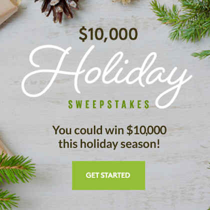 Holiday Sweepstakes 2016