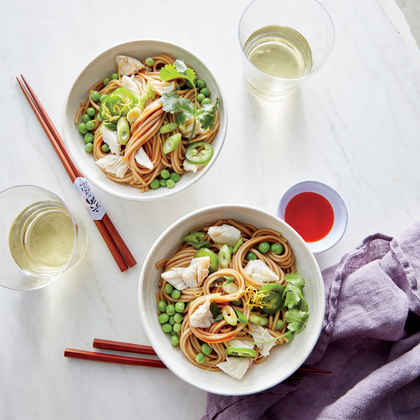 ColdNoodle Salad with Sesame Crab