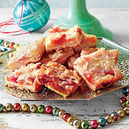 Ambrosia Streusel Bars with Shortbread Crust
